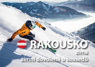Rakousko zima